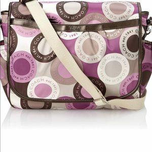 Coach diaper bag like new